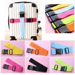 Adjustable Suitcase Luggage Straps Travel Buckle Baggage Tie