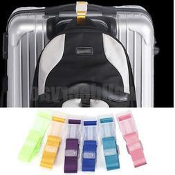 Adjustable Travel Luggage Buckle Strap Add A Bag Suitcase Ba