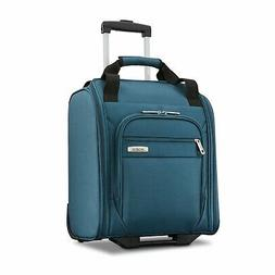 Advena Underseat Carry On Luggage with Wheels, Teal