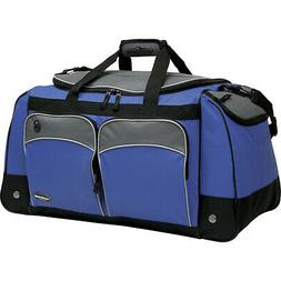 "Travelers Club Luggage Adventure 28"" Multi-Pocket Travel Duf"