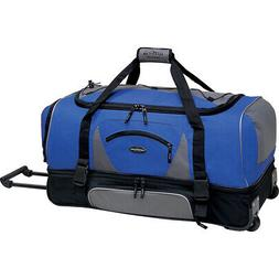 "Travelers Club Luggage Adventure 30"" Rolling 2-Tone Travel D"