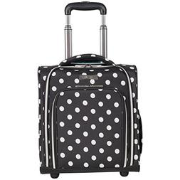 "Heritage Travelware Albany Park 16"" 600d Polka Dot Polyester"