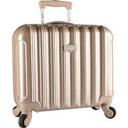 "Kensie Luggage Alma 16"" Light Metallic Rolling Laptop Whee"