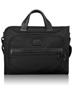 TUMI - Alpha 2 Slim Deluxe Portfolio Bag - Organizer Briefca