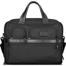 Tumi Alpha 2 Tumi T-Pass Expandable Laptop Brief Black - Tum
