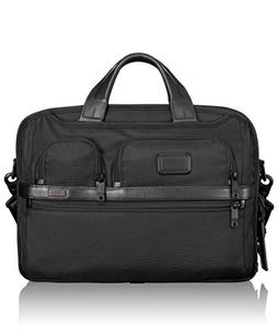TUMI - Alpha 2 T-Pass Medium Screen Laptop Slim Brief Briefc