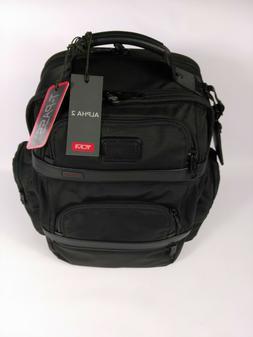 TUMI Alpha 2 T-Pass Business Class LAPTOP Brief Pack - BLACK