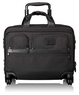 TUMI - Alpha 2 Carry-on Wheeled Laptop Deluxe Brief Briefcas