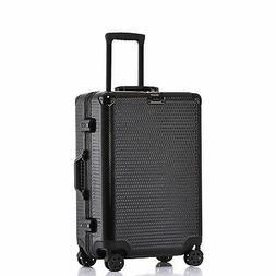 Aluminum Frame Carry On Durable PC Hardshell TSA Lock Luggag