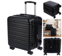 AmazonBasics Hardside Spinner Luggage Carry On 20 Inch Light