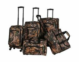 American Flyer Camo Green 5 Piece Spinner Set