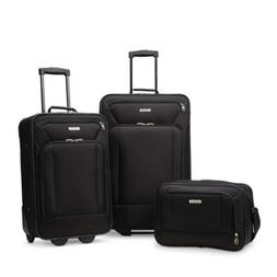 American Tourister Fieldbrook Xlt 3pc Set Black Travel Bags