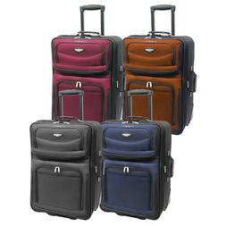 "Amsterdam 25"" Medium Lightweight Expandable Rolling Luggage"