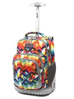 Tilami Anti-wear Compressive Roller Book Bag Luggage Backpac