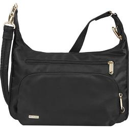Travelon Anti-Theft Front Pocket Crossbody Bag with Cross-Bo