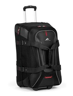 High Sierra AT7 Carry-on Wheeled Duffel with Backpack straps