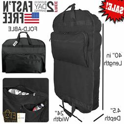 Clothes Travel Bag Suit Cover Business Garment Hanging Lugga