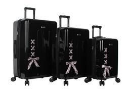 BCBGeneration BCBG Luggage Hardside 3 Piece Suitcase Set wit