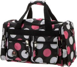 Rockland Bel-Air Carry-On Tote Duffle Bag - Multi-Pink Dot P
