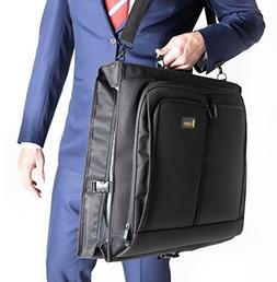 Best Garment Bag - Black Carry On Suit Bag Dress Bag for Tra