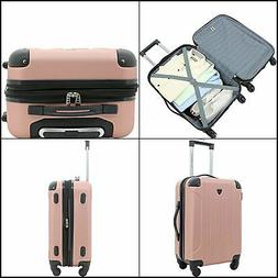BEST NEW Travel 20-Inch Expandable Spinner Carry-On Luggage