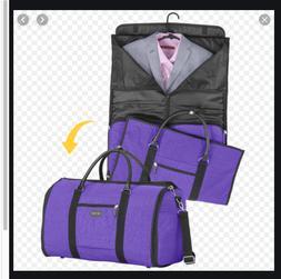 Biaggi Hangeroo 2-in-1 Garment Bag & Duffle by Lori Greiner