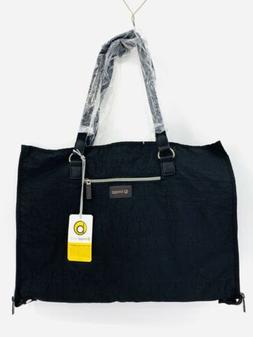 Biaggi Hangeroo ZipSak 2-in-1 Black Garment Bag Tote By Lori