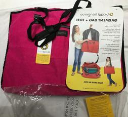 Biaggi Hangeroo ZipSak 2-in-1 Garment Bag & Tote...NWT Fuchs