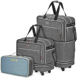 Biaggi Zipsak Boost Max Carry-On Suitcase - Compact Luggage