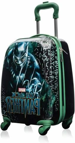 Marvel Black Panther Kids 18 Inch Spinner Carry On Travel Lu