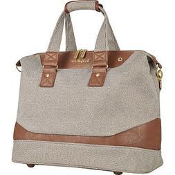 Tommy Bahama Boracay Brown Lurex 18 inch Duffle Bag Luggage