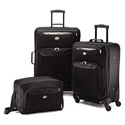 American Tourister Brookfield 3pc Set , Black