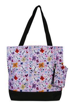 Jenzys Butterfly Womens Travel Tote Bag Purse Handbag Shoppi