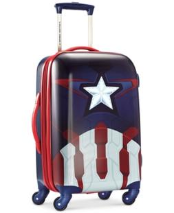 "Marvel Captain America 21"" Hardside Spinner Suitcase by Amer"