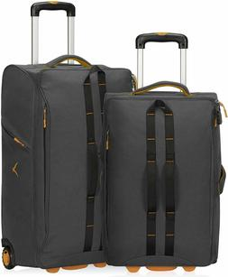 Carry on Luggage Rolling Wheeled Duffel Bag Softside Checked