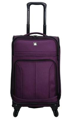 Skyline Carry On Suitcase with Wheels and Extendable Handle