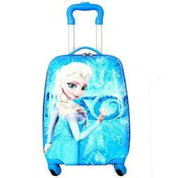 Cartoon Kid's Travel Trolley Bags Suitcase For Kids Children