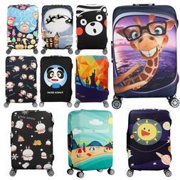 Cartoon Animal 20/24/28/30'' Travel Luggage Suitcase Elastic