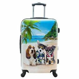 Chariot Kona Dogs 20-Inch Hardside Lightweight Spinner Carry