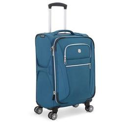 "SWISSGEAR Checklite 20"" Pilot Case Carry on Suitcase - Teal,"
