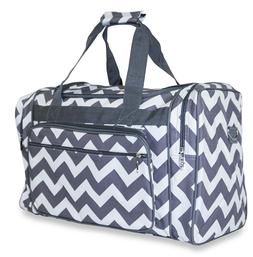 Chevron Large Duffle Bag Duffel Carry On Luggage Gym Sports