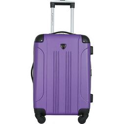 "Travelers Club Luggage Chicago 20"" Hardside Exp. Hardside Ca"