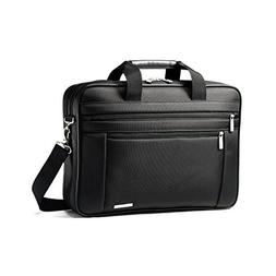 "Samsonite Classic Business Perfect Fit 15.6"" Two Gusset Lapt"