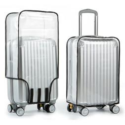 Clear PVC Plastic Luggage Cover Suitcase Protector Covers 20