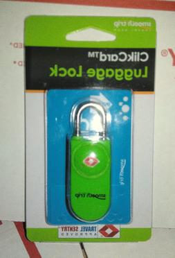 Smooth Trip ClikCard TSA Approved & Accepted Luggage Locks -