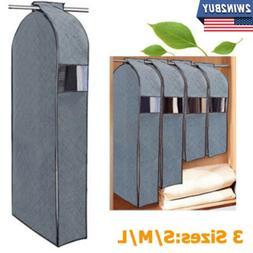 Clothes Garment Dustproof Cover Suit Coat Hanging Storage Ba