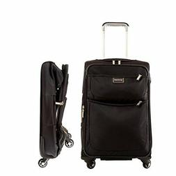 Biaggi Luggage Contempo Foldable Spinner Carry On, 22-Inch
