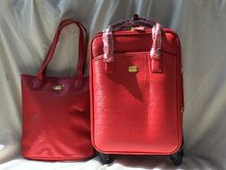 JOY Couture City Collection Tote and Carry-On Wheeled with D