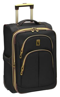 "London Fog Coventry Ultra-Lite Collection 21"" Carry-On Uprig"