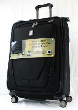 """TRAVELPRO CREW 11 25"""" EXPANDABLE SPINNER SUITCASE BLACK"""